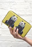 Panda - Womens Yellow Panda Purse from HETTY+SAM