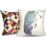 Pass it On II - Modern and Vibrant Printed Vegan Cushions