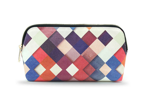 Pass it On - Colourful Patchwork Make Up Bag, Pencil Case