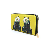 Panda - Luxury Colourful Leather Purse Wallet for Women