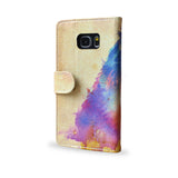 Sunny Leo - Watercolour lion case for Samsung Galaxy Note 5, Leather wallet case for Note 5