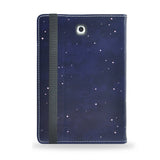 Burn the Midnight Oil - Blue Samsung Galaxy Tab S2 9.7 inch vegan leather folio case, artisitc, moonBurn the Midnight Oil - Blue Samsung Galaxy Tab S2 8 inch vegan leather folio case, artisitc, moon