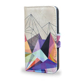 'Colourflash 3' Artist Designed Sony Xperia Z5 Wallet Case, , Create&Case - createandcase