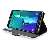 Kick stand viewing case for samsung galaxy s6