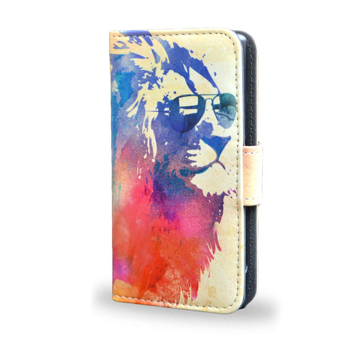 Sunny Leo - Sony Xperia Z5 Compact leathe case cover, wallet case for z5 compact