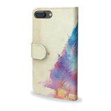 Sunny Leo, Watercolour Lion iPhone 5 & 5S Wallet Style Case - Back