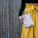 Blush & Gold Marble - Contemporary Ethical Fashion by HETTY+SAM