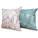 Duck Egg & Copper - Matching Stylish Sofa Cushions