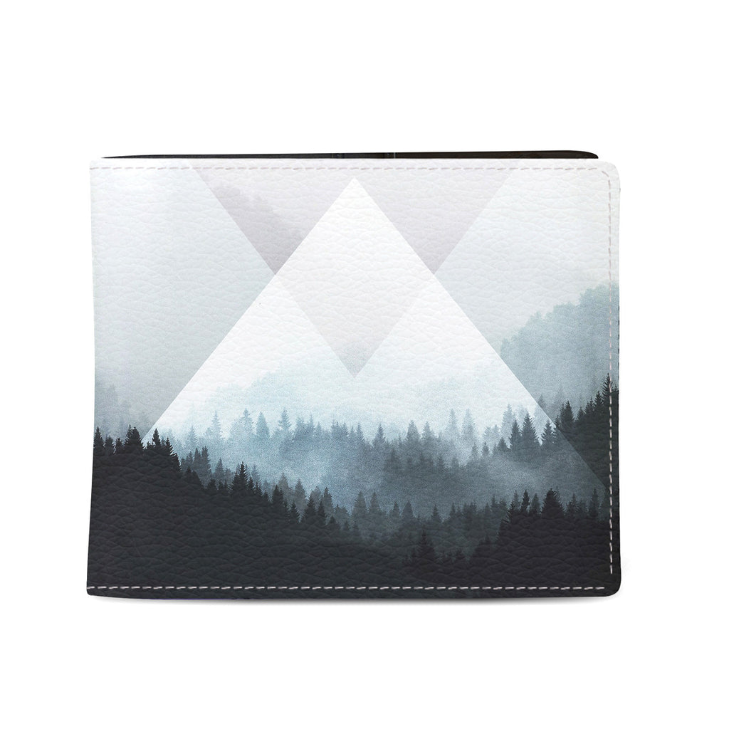 Woods Abstract - Mens Vegan Wallet with Naturalistic design