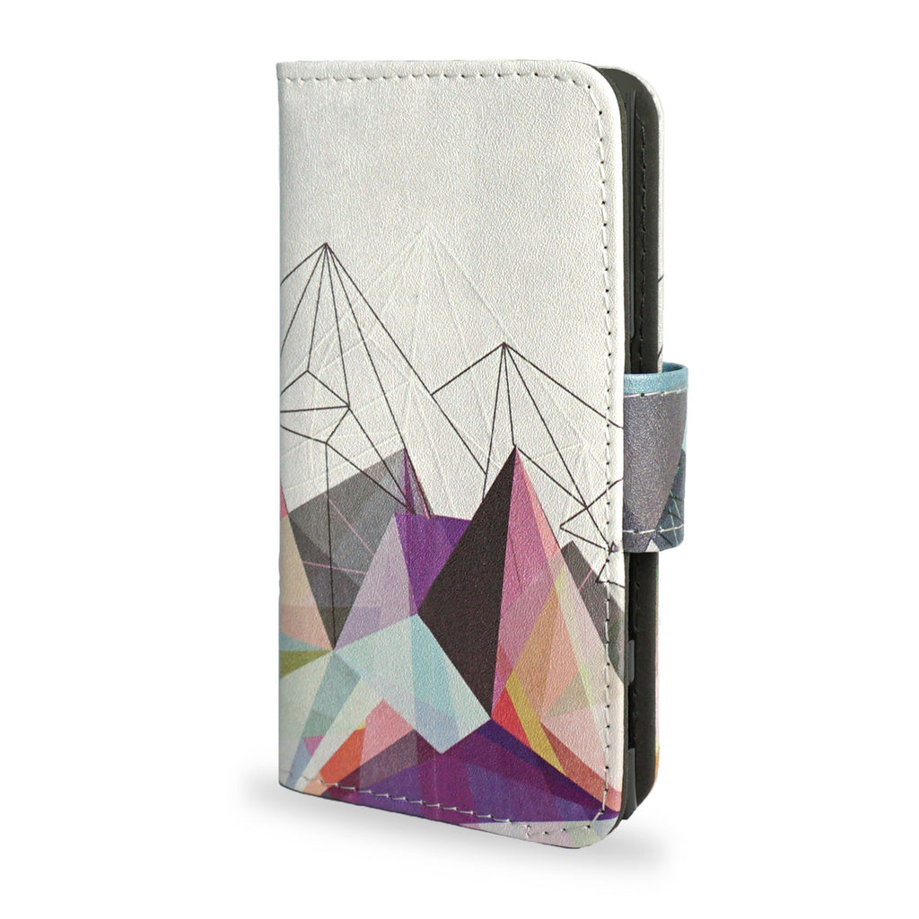 SALE 'Colourflash 3' Sony Xperia X Compact Vegan Leather Wallet Case, , Create&Case - createandcase