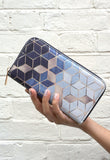 Gradient Cubes - Luxury Cruelty Free & Ethical Women's Purse from HETTY+SAM