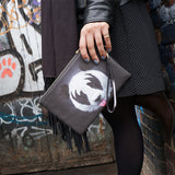 'KISS of a Panda' Clutch Bag