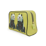 Panda - Large Yellow Luxury Vegan Wash Bag Gift Set