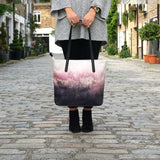 Pink Sky - Womens Luxury Leather Tote Handbag from HETTY+SAM