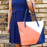 Back to Sail 2 - Ladies Vegan Leather Tote Shopper bag