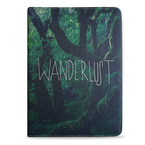 iPad 2017 Vegan Leather Stand Case - Wanderlust