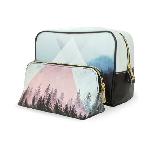 Woods - Black and White Naturalistic Vegan Travel Gift Set by HETTY+SAM