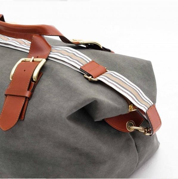 Duffle bag Mick olive - Soliroca