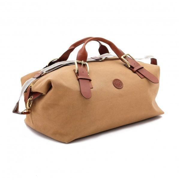 Duffle bag Mick jaune moutarde - Soliroca