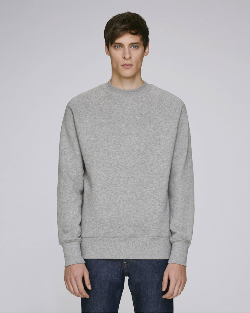 Sweat-shirt col montant gris - Soliroca