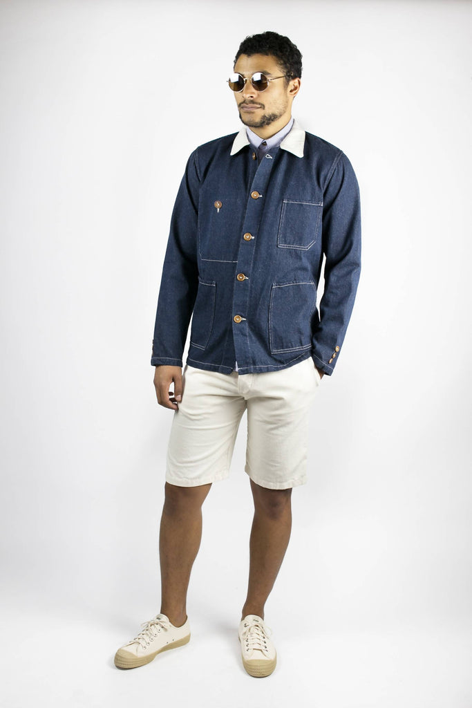 Veste de base denim par La Sape