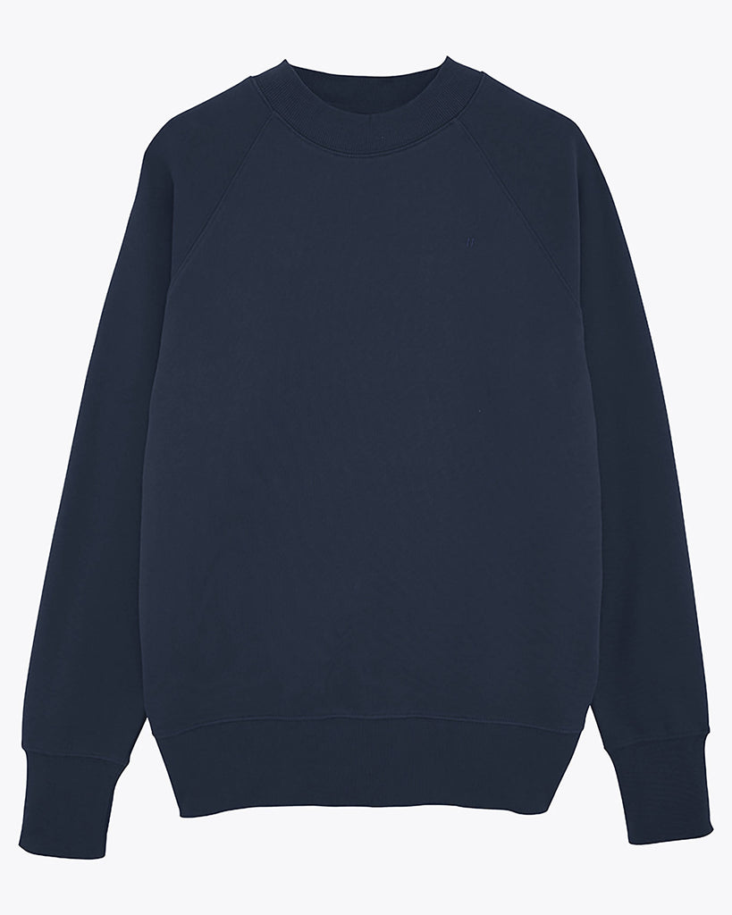 Sweat-shirt col montant kaki - Soliroca