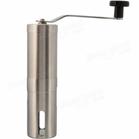 Stainless Steel Hand Manual Coffee Bean Grinder Mill Kitchen Grinding Tool, Coffee Grinder, TME Online | TME Online
