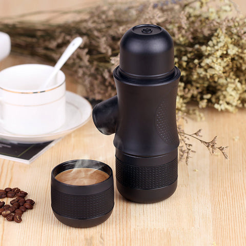 Portable Manual Coffee Maker Outdoor Handheld Mini Pressing Coffee Espresso Machine, Espresso, TME Online | TME Online