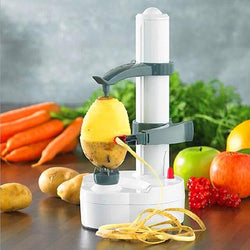 Auto Rotating Fruit And Vegetable Peeler