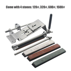 Professional Kitchen Sharpening Tool With 4 Stones