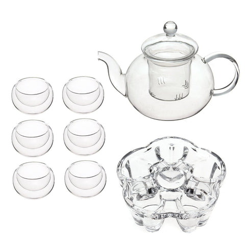 Gongfu Glass Teapot Set, Tea Pot, TME Online | TME Online