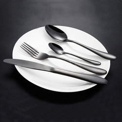 Stainless Black Gold Cutlery