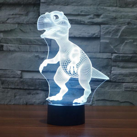 3D Color Changing Dinosaur Night Lamp, Dinosaur Night Lamp, TME Online | TME Online