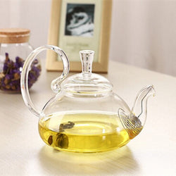 Elegant Glass Teapot Infuser