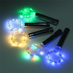 15 LED Wine Bottle String Lights For Party Decor