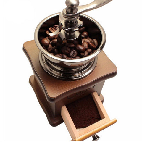 Retro Manual Coffee Bean Grinder, Coffee Grinder, TME Online | TME Online