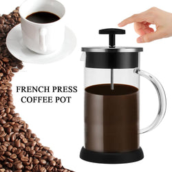 3 Part Filtration French Coffee Press