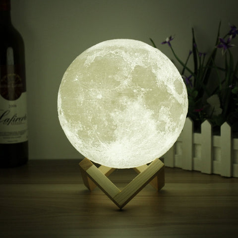 Luna Touch Sensor Moon Lamp Night Light, Moon Lamp, TME Online | TME Online