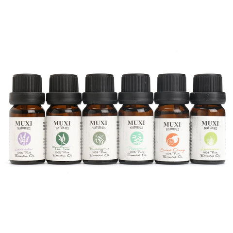 6Pcs Pure And Natural Essential Oils Aromatherapy, Essential Oil, TME Online | TME Online