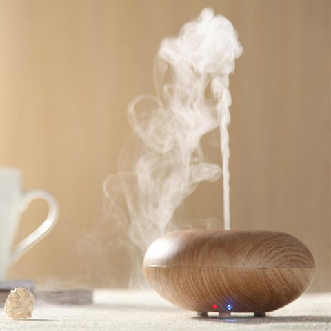 Ultrasonic Wood Grain Air Humidifier Aromatherapy, Air Humidifier, TME Online | TME Online