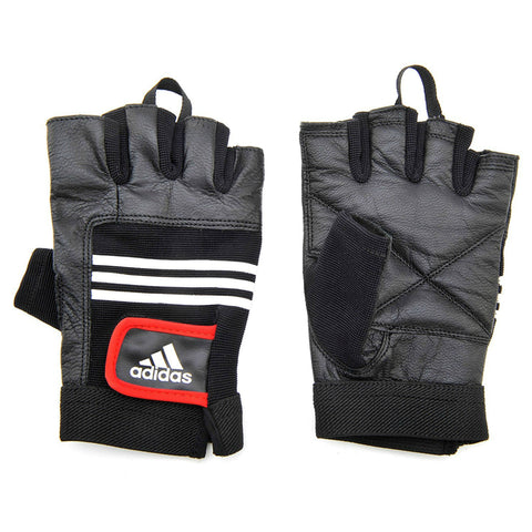 Adidas Leather Weight Lifting Gloves L/XL, Gym Gloves, Adidas | TME Online