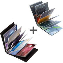 Ultra Thin Smart Wallet - Fits 24 Cards And Cash, Wallet, TME Online | TME Online