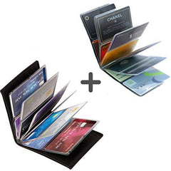 Image of Ultra Thin Smart Wallet - Fits 24 Cards And Cash