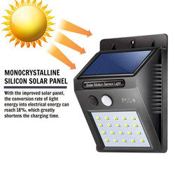 Solar Motion Light LED Battery Waterproof