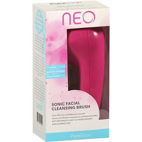 PuraSonic Neo Sonic Facial Cleansing Brush, Facial Cleansing Brush, PuraSonic | TME Online