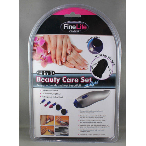 Fine Life 4 in 1 Beauty Care Set, Beauty Care Set, Fine Life | TME Online