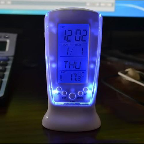 Square Clock With LED Backlight And Calendar, Clock, TME Online | TME Online