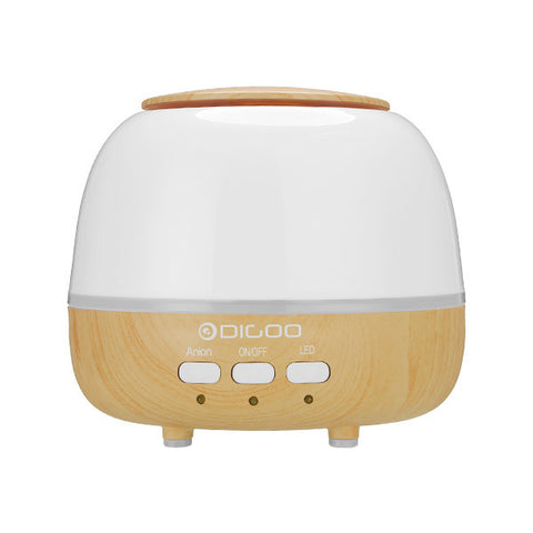 Pearl Wood Grain Aroma Diffuser Humidifier Anion Air Purifier Color Changing LED, Aroma Diffuser, Digoo | TME Online