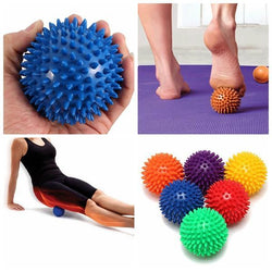 Spiky Acupoint Trigger Point Stimulating Stress Relief  Yoga Massage Ball, , TME Online | TME Online