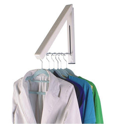 Wall Mounted Retractable Clothes Rack